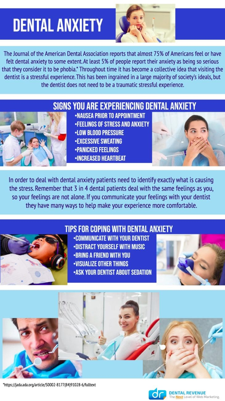 How to Cope With Dental Anxiety Infographic